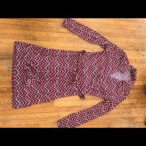 BCBG maxazria Wrap Dress M